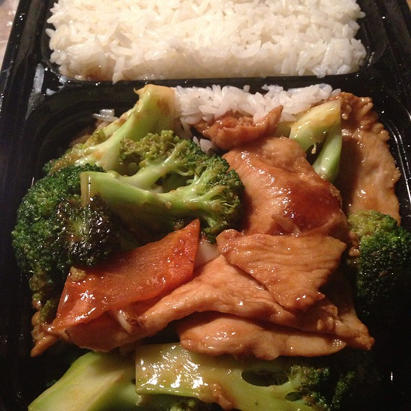 Chicken And Broccoli - Temple Gourmet Chinese, Red Bank, NJ