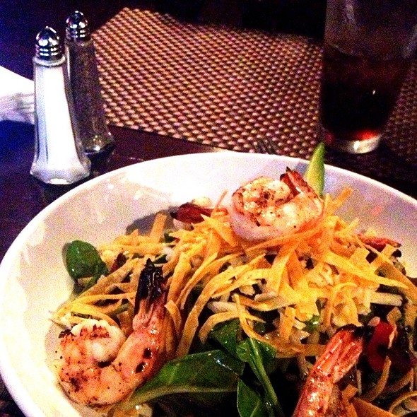 Southwest Salad With Grilled Shrimp - Tir Na Nog Irish Bar & Grill - Times Square, New York, NY