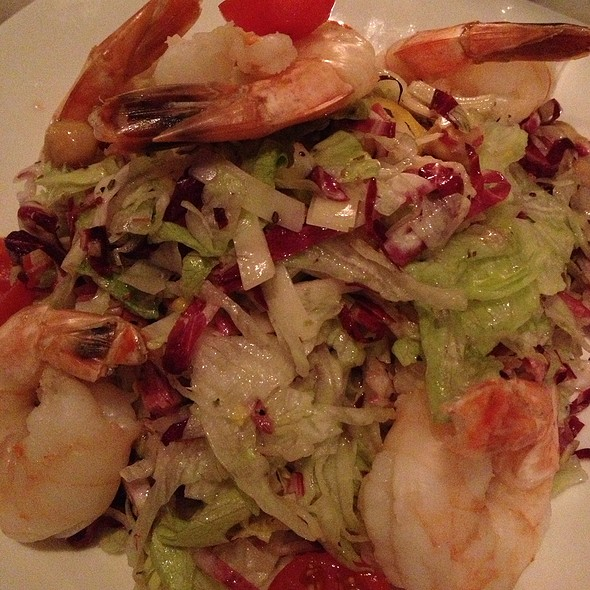 Chopped Salad With Shrimp - Artisan House, Los Angeles, CA