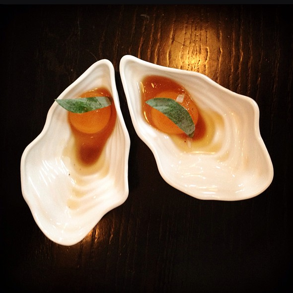 Oysters Cocktail - 69 Colebrooke Row, London