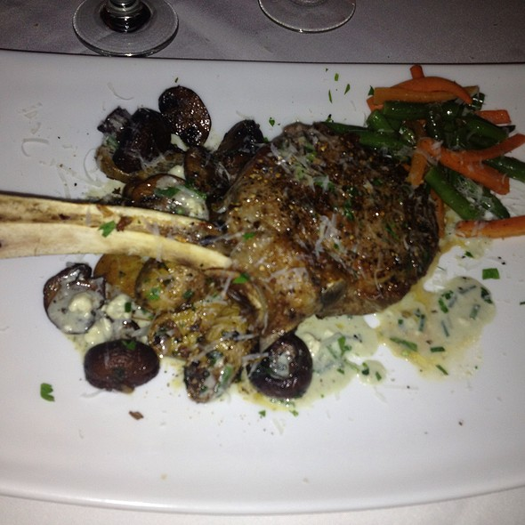 Rack Of Veal, Crimini Mushrooms, Fingerling Potatoes, Sauteed Vegetables - Paisano's, Rutherford, NJ