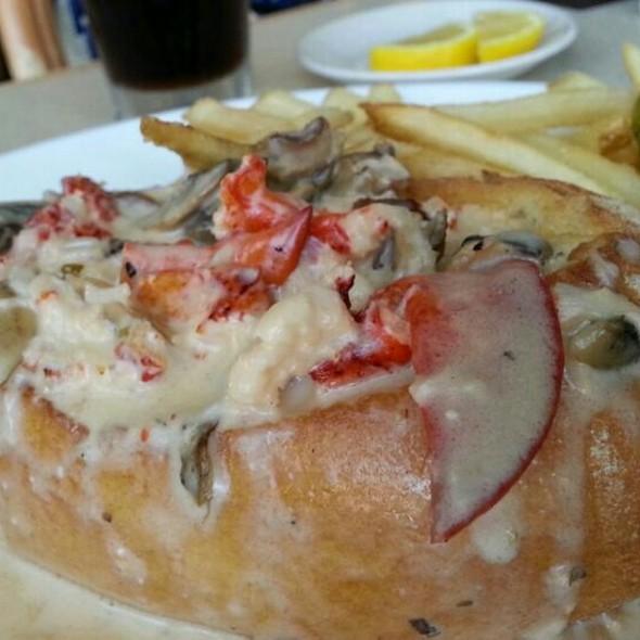 Hot Lobster Roll - McLoone's Boat House, West Orange, NJ