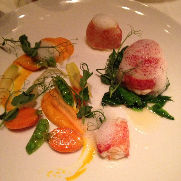 Butter poached lobster - Tocqueville, New York, NY