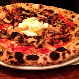 Wild Mushroom Pizza - Domenica, New Orleans, LA