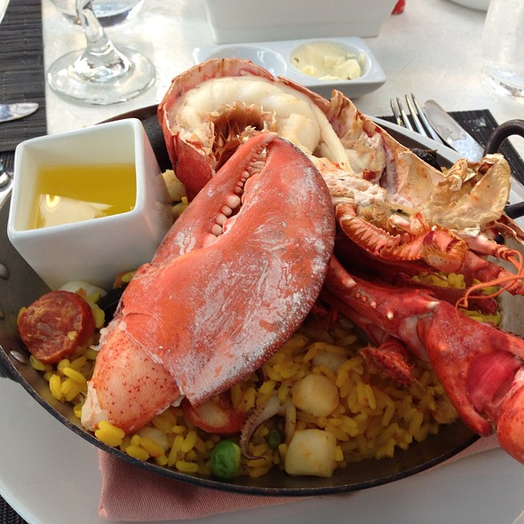 Lobster Paella - Sally's Fish House & Bar, San Diego, CA