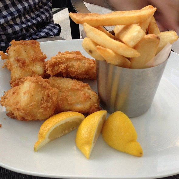 Fish and Chips - Sally's Fish House & Bar, San Diego, CA