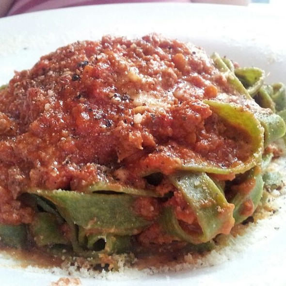 Tagliatelle Verdi Alla Bolognese - Pasta da Pulcinella, Atlanta, GA