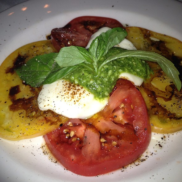 Caprese Salad - Bonnell's Fine Texas Cuisine, Fort Worth, TX