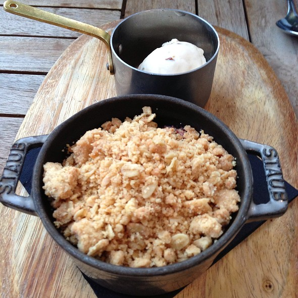 Black Cherry Crumble - The Laughing Gravy, London