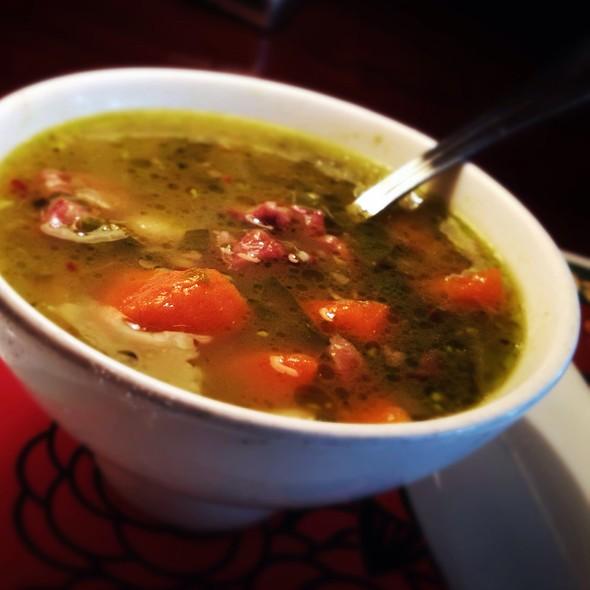 Portuguese White Bean & Kale Soup - Dahlia Lounge, Seattle, WA