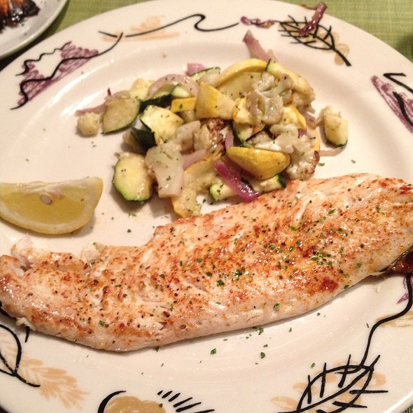 Broiled Whitefish - Real Seafood Company - Ann Arbor, Ann Arbor, MI