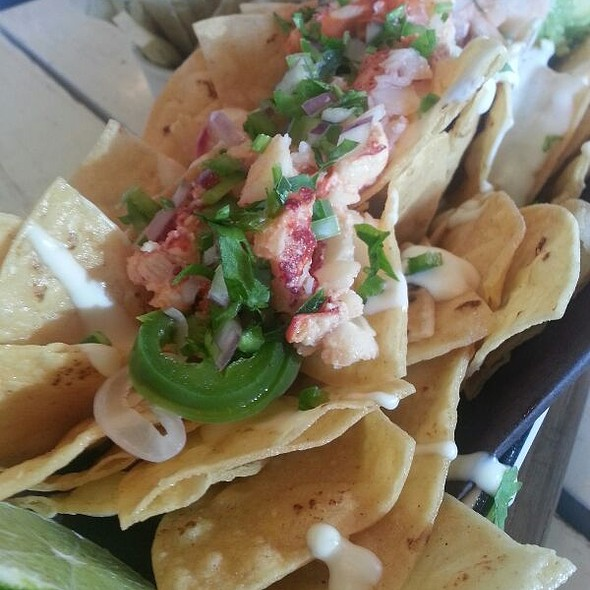 Lobster Nachos with Guacamole - Drake Hotel, Toronto, ON