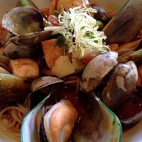 Seafood Pasta - Spencer's Restaurant, Palm Springs, CA