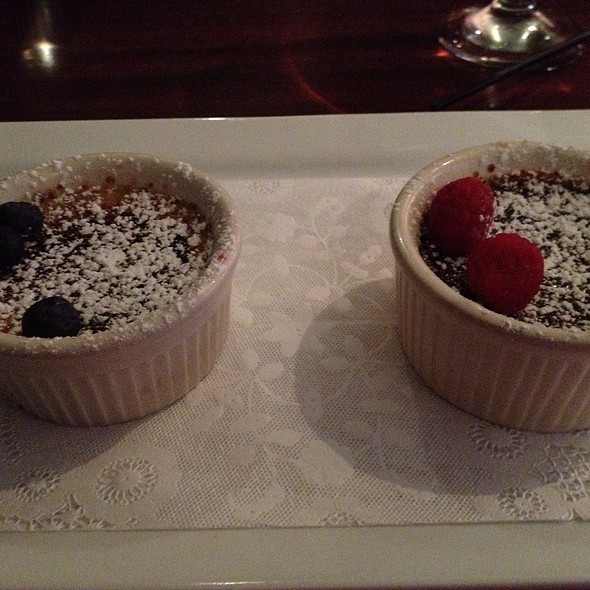 Duo Of Creme Brulee - The Tulip Bistro + Bar, Lexington, KY