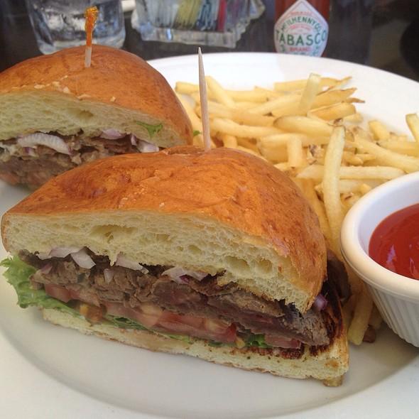 Grilled Lamb Sandwich - Zov's Bistro Tustin, Tustin, CA