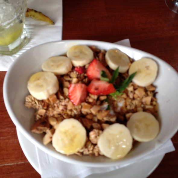 Yogurt Plate In Granola Banana Honey And Strawberry Field - Made in Brasil, London