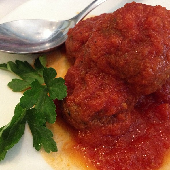 Polpetine In Salsa - Tigelleria Organic Restaurant, Campbell, CA
