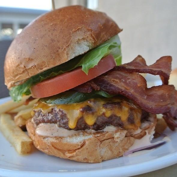 Bacon Cheeseburger - Water Works Restaurant & Lounge, Philadelphia, PA