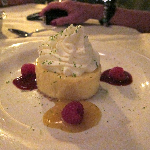Silky Key Lime Pie - Ophelia's on the Bay, Sarasota, FL