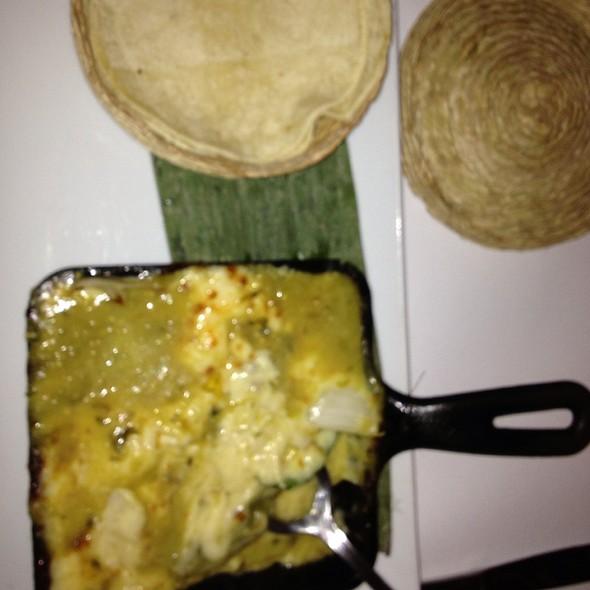 Queso Fundido - Caracara Mexican Grill, Farmingdale, NY