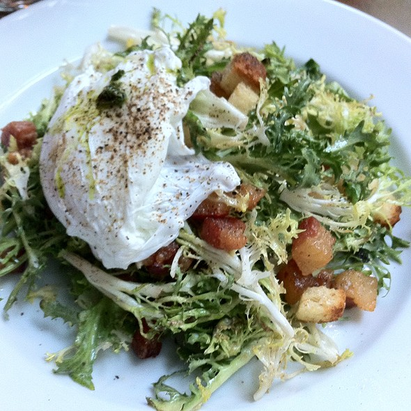 Frisee Salad Aux Lardons - Le Midi Bar & Restaurant, New York, NY