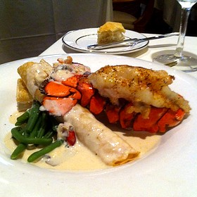 Lobster Crepes With A Lobster Tail - The Orangery, Knoxville, TN