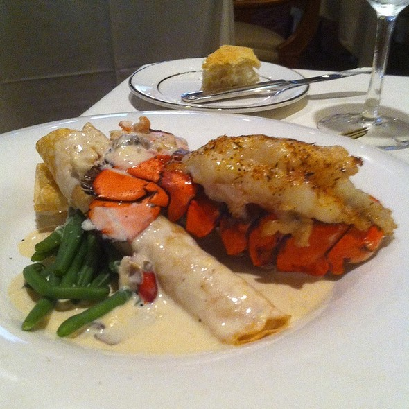 Lobster Crepes With A Lobster Tail - The Orangery, Knoxville, Tennessee