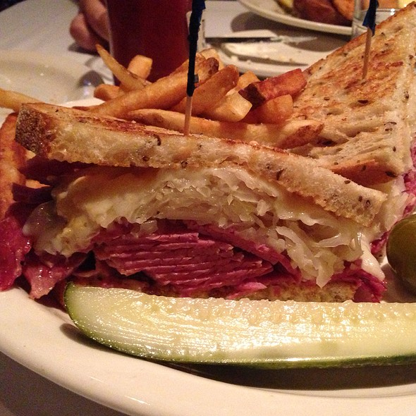 Reuben - Old Ebbitt Grill, Washington, DC