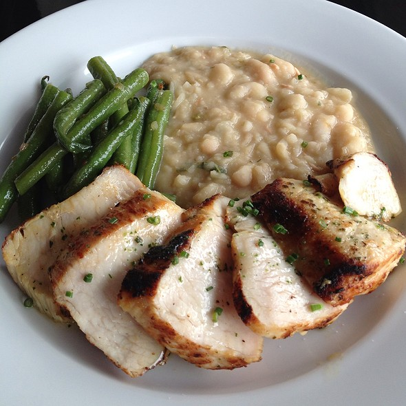 Turkey Culotte With Blue Lake Beans And White Beans - The Brentwood Restaurant and Lounge, Los Angeles, CA