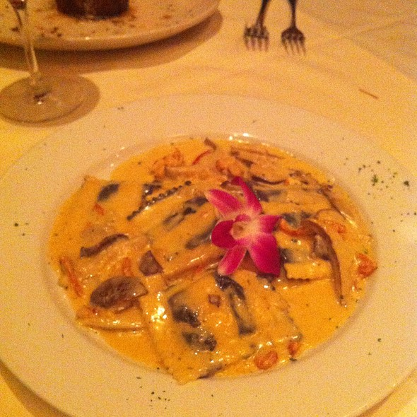 Lobster Ravioli - Chris Michael's Steakhouse, Woodbridge, NJ