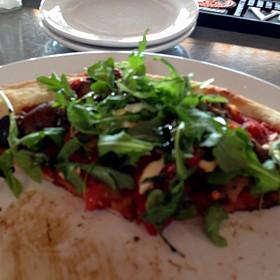 Roasted Veggie Pizza - Bridges Restaurant - MD, Grasonville, MD