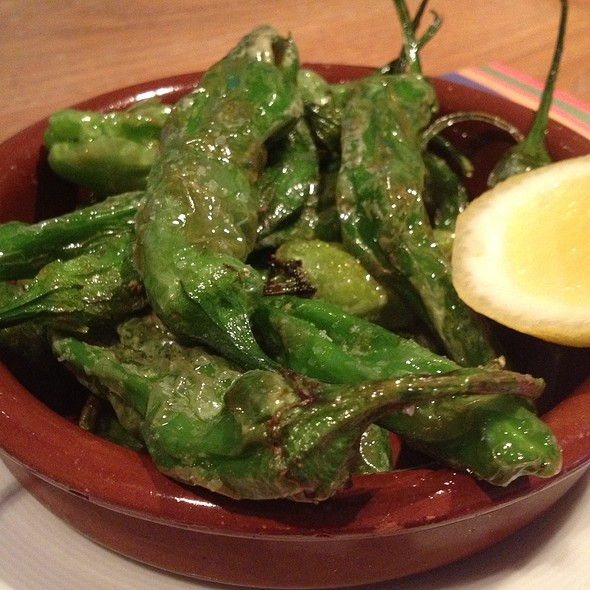 Shishito Peppers - La Fonda Del Sol, New York, NY