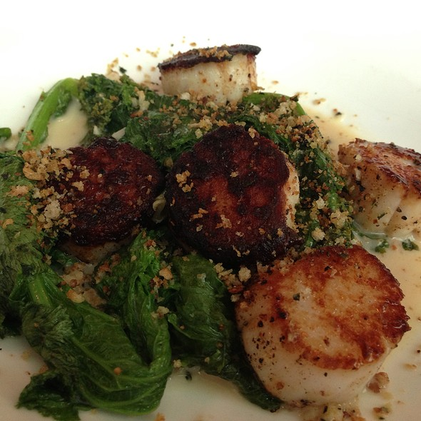 Scallops - Tomasso Trattoria, Southborough, MA
