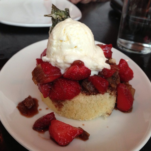 strawberry shortcake - Tomasso Trattoria, Southborough, MA