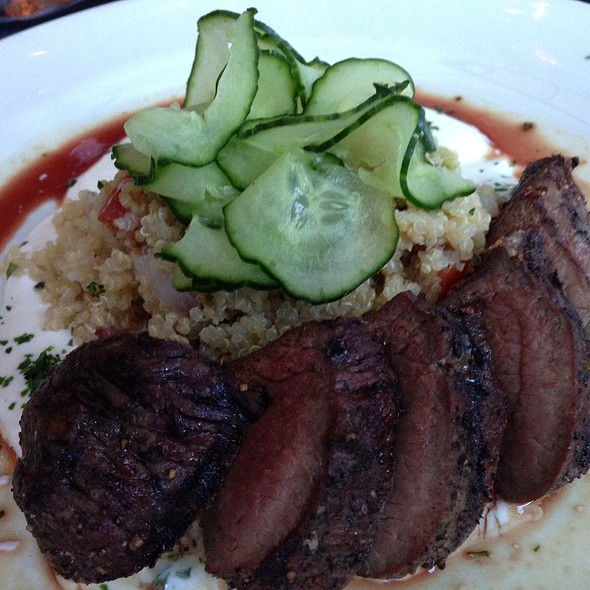 Lamb Sirloin Steak - Meriwether's Restaurant & Skyline Farm, Portland, OR