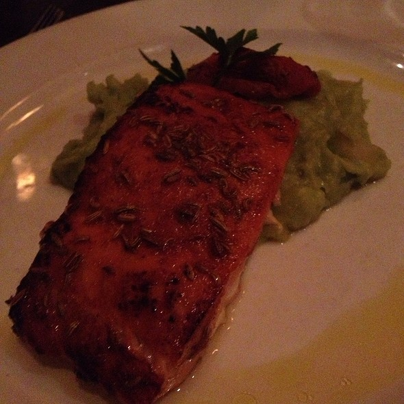 Morocan Salmon - Zazou Restaurant, Redondo Beach, CA