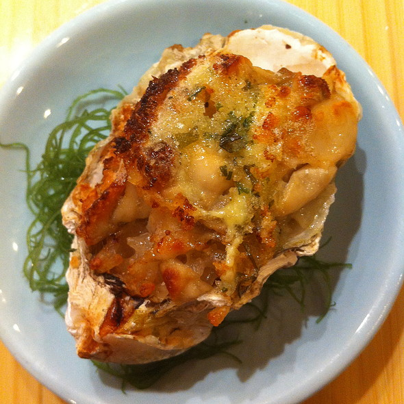 Baked Oyster - Sushi of Gari - Upper East Side, New York, NY