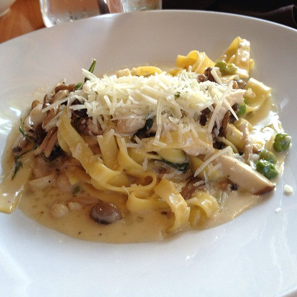 Mushroom Pasta - Sweet Grass Grill, Tarrytown, NY