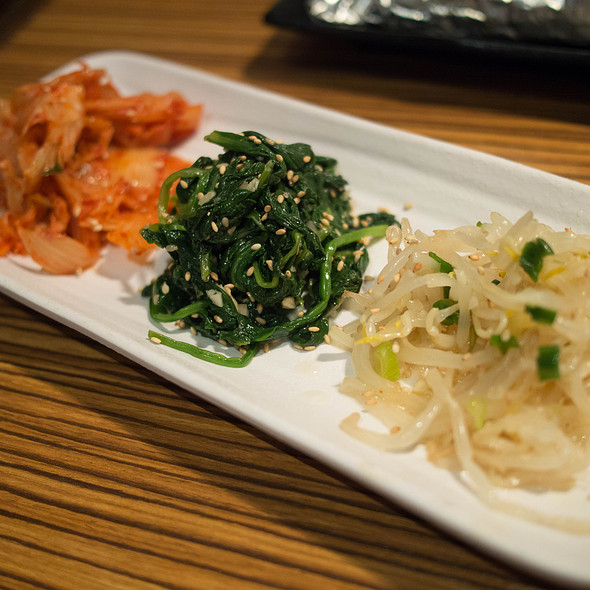 Seasoned Vegetable Trio - Gyu-kaku - Cupertino, Cupertino, CA