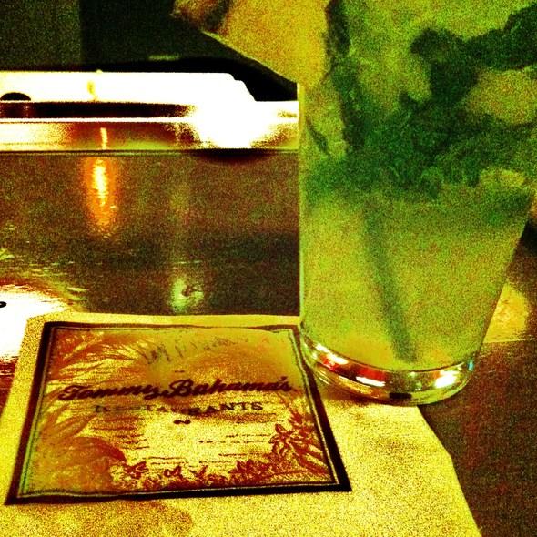 Pineapple Mojito - Tommy Bahama Restaurant & Bar - Sandestin, Miramar Beach, FL