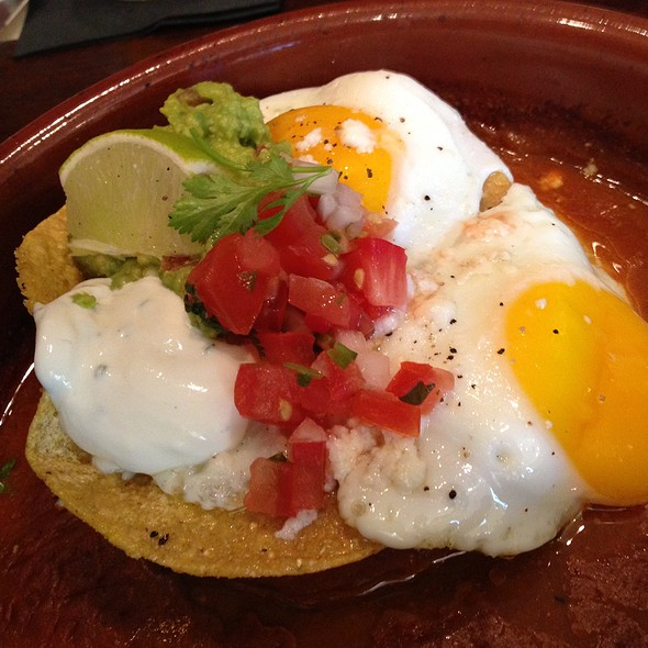 huevos rancheros!! - Meriwether's Restaurant & Skyline Farm, Portland, OR
