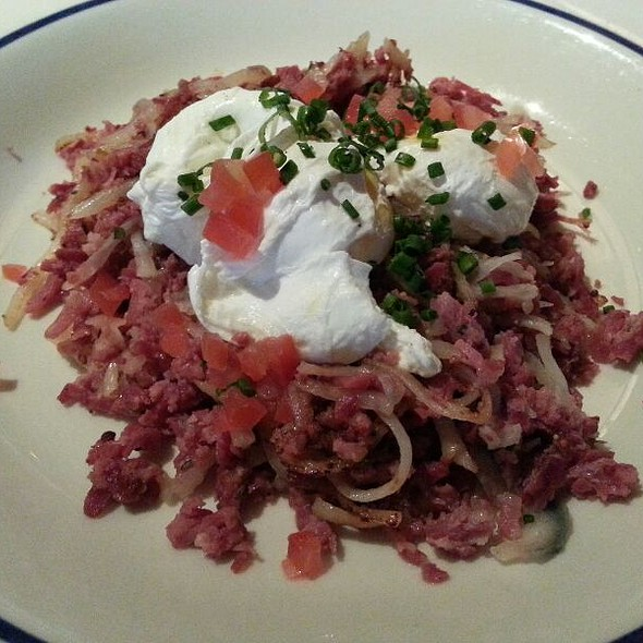 Corned Beef Hash - Blue Ridge Grill, Atlanta, GA
