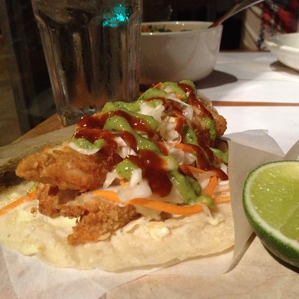 Fish Taco - Fonda - East Village, New York, NY