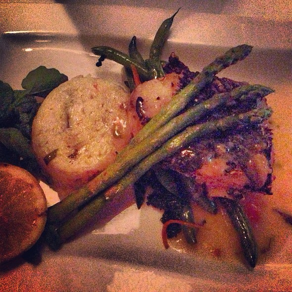 Chilean Sea Bass - Oceanos Restaurant, Fair Lawn, NJ