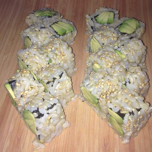 Brown rice avocado sushi - Tomatoes, Margate, NJ