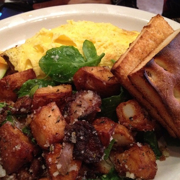 Andouille Sausage Omelette - Fig Tree Cafe - Hillcrest, San Diego, CA