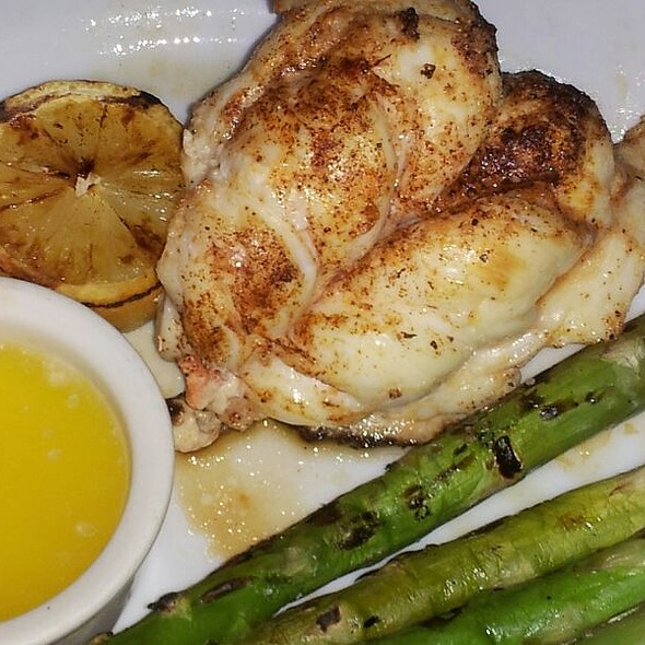 Broiled Lobster With Asparagus - Bungalow, Corona Del Mar, CA
