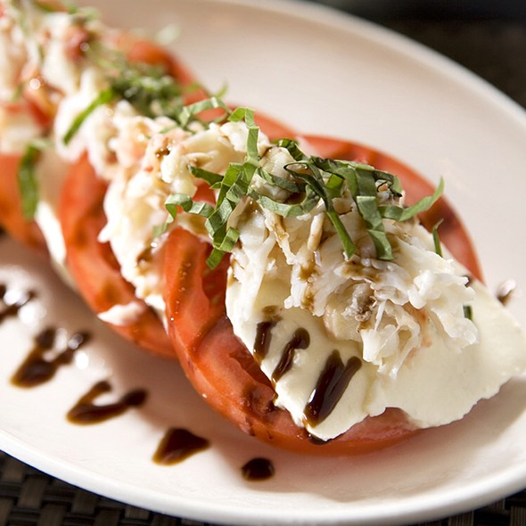 King Crab Caprese - Rosebud Prime, Chicago, IL