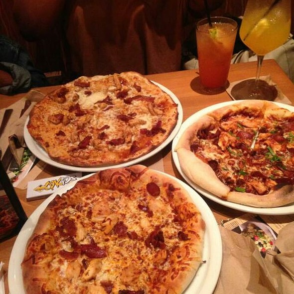 California Pizza Kitchen Menu: California Pizza Kitchen Menu