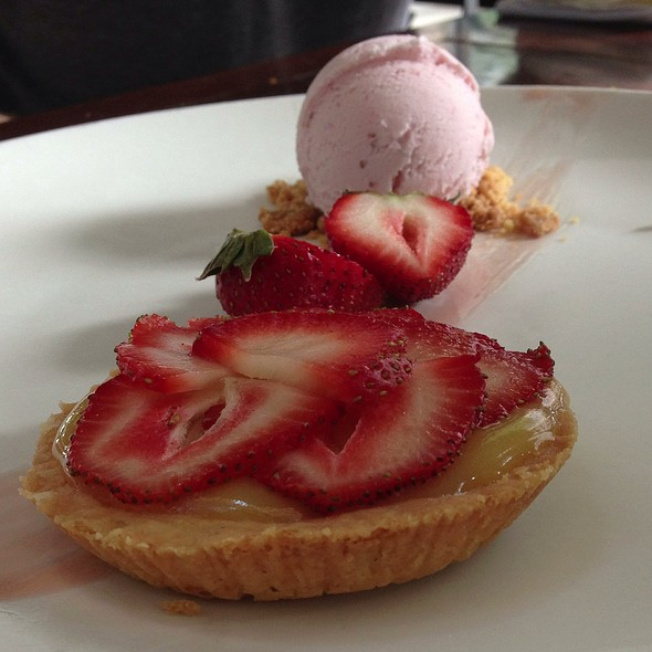 Strawberry Tart - Jax Fish House and Oyster Bar- LoDo, Denver, CO